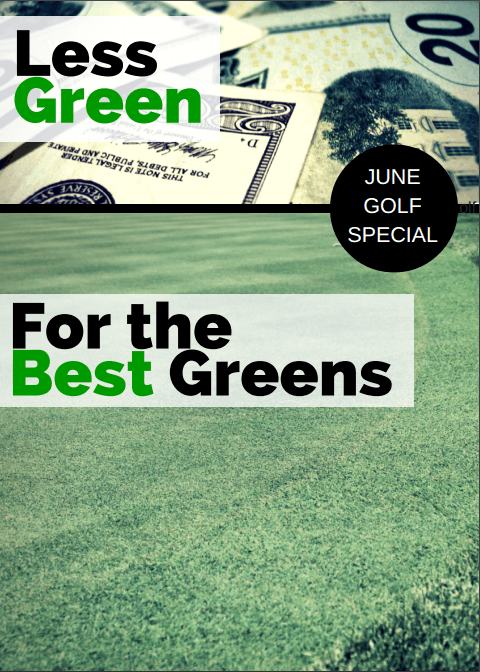 June Golf Special Plain