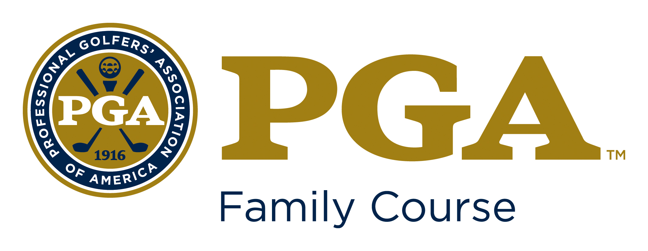 PGA Family Course Logo